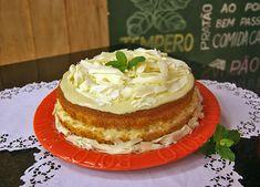 Bolo de Abacaxi com Chocolate Branco | Receitas | Dia Dia