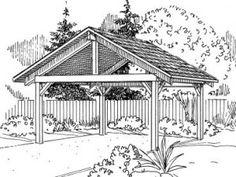 free 2 car carport plans carport plans carport garage carport patio building a