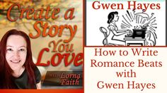 How to Write Romance Beats with Gwen Hayes #CASYLvideointerviews #amwritingromance