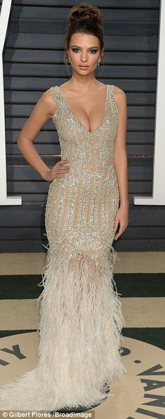 Hollywood beautiesJennifer Aniston, Emily Ratajkowski, Kate Hudson and Kate Upton all ensured they turned heads as they swept into the bash in typically sensational fashion