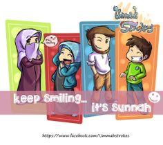Smile it's Sunnah :)