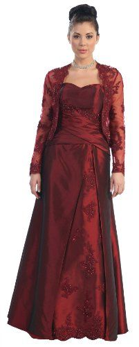 Mother of the Bride Formal Evening Dress #2731 - Appealing Apparel: Price: 	$159.99