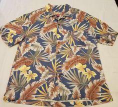 Caribbean Joe size Large mens rayon Hawaiian Tropical Island Style Floral Shirt   Clothing, Shoes & Accessories, Men's Clothing, Casual Shirts   eBay!