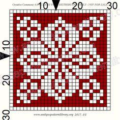 ru / Фото - Le Filet Ancien V - gabbach Counted Cross Stitch Patterns, Cross Stitch Charts, Cross Stitch Designs, Knitting Charts, Knitting Patterns, Crochet Patterns, Filet Crochet, Crochet Stitches, Monochrome Pattern