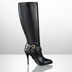 Ralph Lauren #designer #boots #shoes #heels