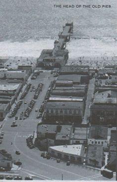 1930's Hermosa Beach Pier. Manhattan Beach California, California History, California Dreamin', Hermosa Beach Pier, Cowgirl Photo, Bay Photo, Family Vacation Spots, San Luis Obispo County, Los Angeles County