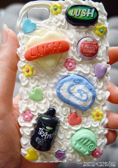 #Lush inspired cover for #iphone 4 by Arts and Candies