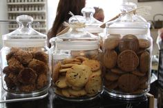Cookies, at Tante T. Baked with organic butter.
