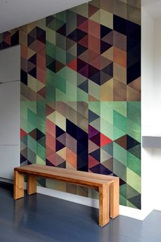 inspo for reclaimed wood tiles