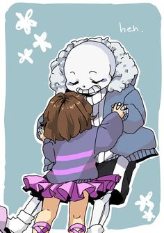 sans and frisk - their comics are always adorable