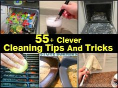 Ideas & Products: 55+ Clever Cleaning Tips And Tricks