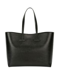 TOM FORD Saffiano Leather T Tote Bag. #tomford #bags #shoulder bags #hand bags #leather #tote #