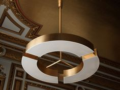 Ozone Classique V - Bright on Presidio Suspended Ceiling Lights, Ceiling Lamp, San Francisco, Light Highlights, Luxury Chandelier, Chandeliers, Diffused Light, Minimal Design, Lighting Design