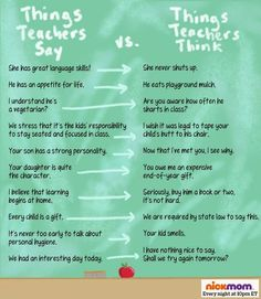 parent teach conference funny - Yahoo Image Search Results #daycarefunny