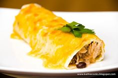 Pineapple Chicken Burritos....could be really good or really bad!