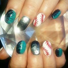 #nails #nailart #cnd #nailprodigy#nailpro#nailsmagazine #nailitmag#nailsofinstagram #prettynails#TheBlackwellSalon #CoosBay#Oregon #Seattle #mariners  (at The Blackwell Salon, LLC)