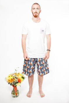 Hello Mr pyjama pants with the mens Give us a T!Shirt in white. Both 100% organic fairtrade cotton. www.thegoodnightsociety.com.au