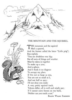 The Mountain and the Squirrel illustrated by Don Nelson | Flickr