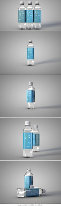 Freska | water #packaging #design, nice concept by the student Mauricio lópez | ivan giorgetti PD
