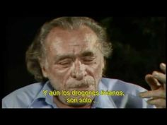 Charles Bukowski, on alcohol &drugs Charles Bukowski, Alcohol Is A Drug, Book People, Love Him, Einstein, Drugs, Legends, Interview, Faces