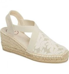 380b237fb17f Toni Pons Terra-F Ecru Espadrille Sandal (Women) Espadrille Sandals