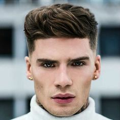 men's hairstyles/haircuts for diamond face shapes  cosmo