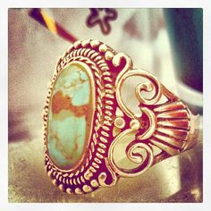 1960's Vintage Turquoise Ring