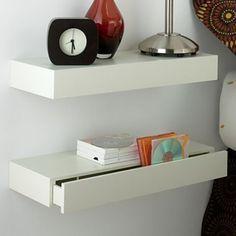 Bildresultat för small bookcase instead of bedside table