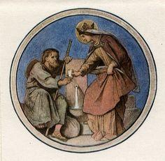 Category:Elisabethgalerie in Wartburg Castle Moritz Von Schwind, Saint Elizabeth Of Hungary, Sacramento, Illustrations, Les Oeuvres, Catholic, Castle, Selection, Painting