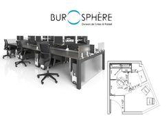 Burospère | division de Crites & Riddell  #mobilier de #bureau