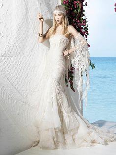 YolanCris | Vestidos de novia ibicencos BOHO GIRL de YolanCris Ibiza! Novias 2013