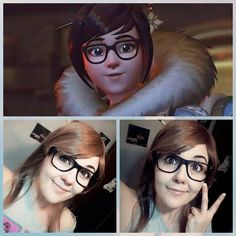 #Mei #Overwacth makeup test