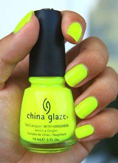 China Glaze - Yellow Polka Dot Bikini