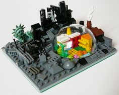 Survivors: A LEGO® creation by Matteo Russolillo : MOCpages.com