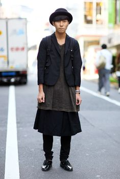 All Black Tokyo | Street Fashion | Street Peeper | Global Street Fashion and Street Style