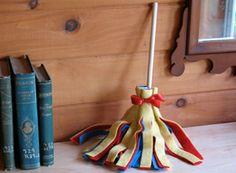 Snow White Broom - Gracie's craft