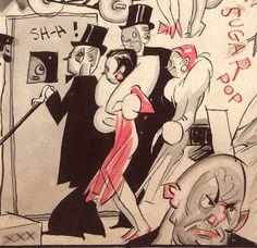 Sekvenskonst: Roy Nelson original art!