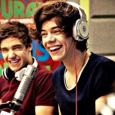 his laugh. I love all of their laughs for different reasons :)