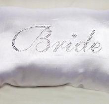 Almofadinha Bride - branca