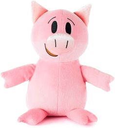Amazon.com: Kohls Cares by Mo Willems Plush Stuffed Animal - Piggie: Toys & Games Kid Birthdays, Mo Willems, Kohls, Pikachu, Plush, Amazon, Games, Character, Animals