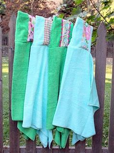 Big kid hooded towels.  I used this tutorial & they cam out brilliant!