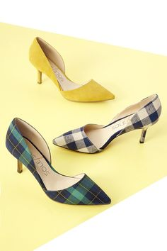 Sole Society's bestselling d'Orsay pumps with pointed toes and ultra-walkable heels