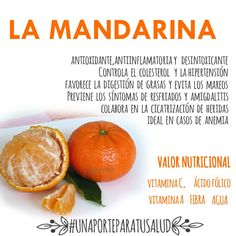 Mandarins propiedades