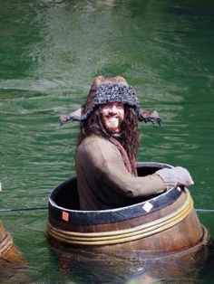Happy Bofur in a barrel (bless his heart)