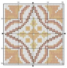 Filet Crochet, Crochet Motif, Crochet Hooks, Crochet Patterns, Cross Stitch Bookmarks, Cross Stitch Patterns, Chart Design, Yarn Over, Rug Hooking