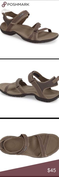 Teva Sandals! Worn only twice these shoes are in excellent condition! They retail for $69.99 at Nordstrom (see pics) but I bought new ones so I'm looking for a good home for them! They have excellent arch support and they are some of the most comfortable shoes I've ever had! Teva Shoes Athletic Shoes