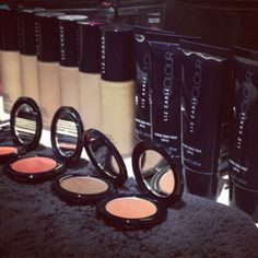 .lizearlebeautyco   Getting ready before the show at #LFW with @Teatum Jones @jofrostmakeup   Webstagram