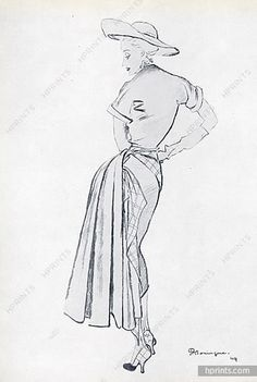 Christian Dior, summer dress 1949