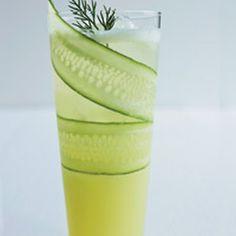 Honeydew-Cucumber Shake With Cucumber Granita Recipes — Dishmaps
