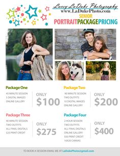 Eugene Senior Portrait Photographer – Pricing and Specials Photography Price List, Wedding Photography Pricing, Photography Marketing, Photography Basics, Photography Lessons, Photography For Beginners, Senior Photography, Photography Business, Film Photography
